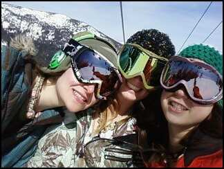 Me, jessica, katt..last day at schweitzer 09