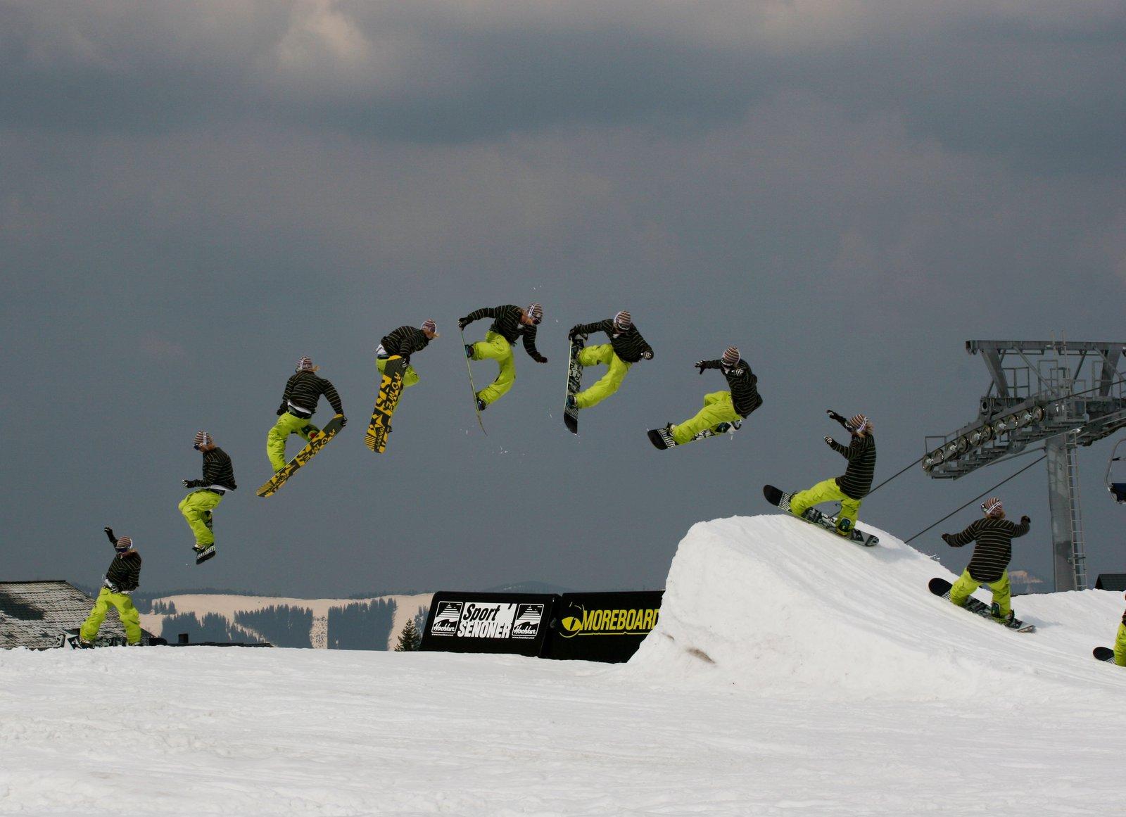 Snowboard fs 7 tail