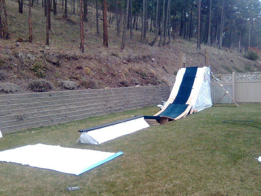 NEW backyard summer setup CMNT PLSE