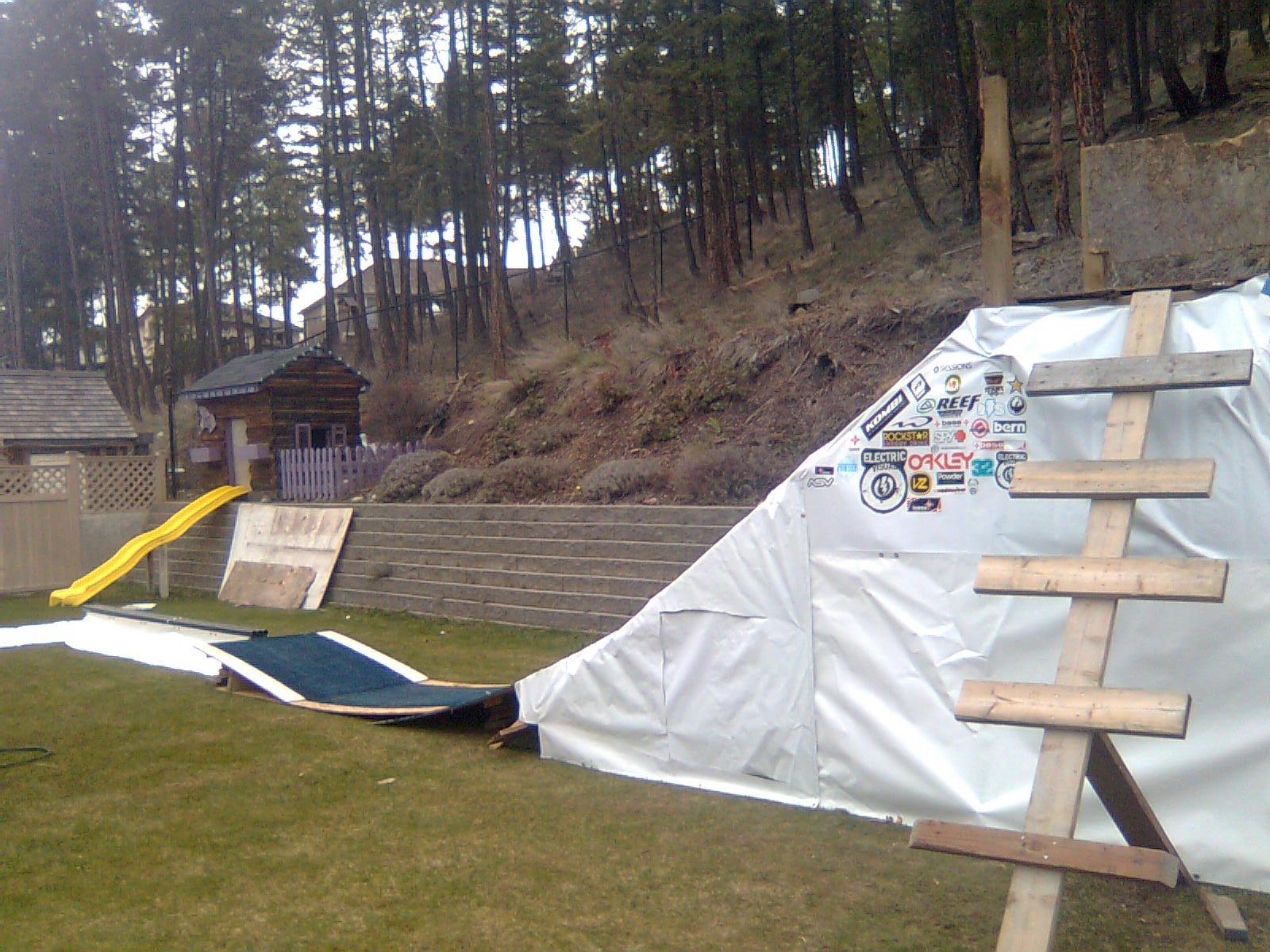 NEW backyard jib