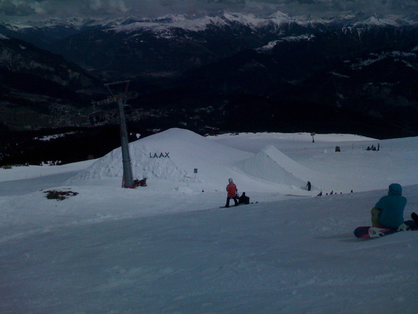 Big one in Laax