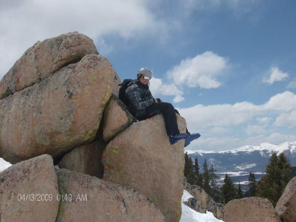 A rock at A-Basin
