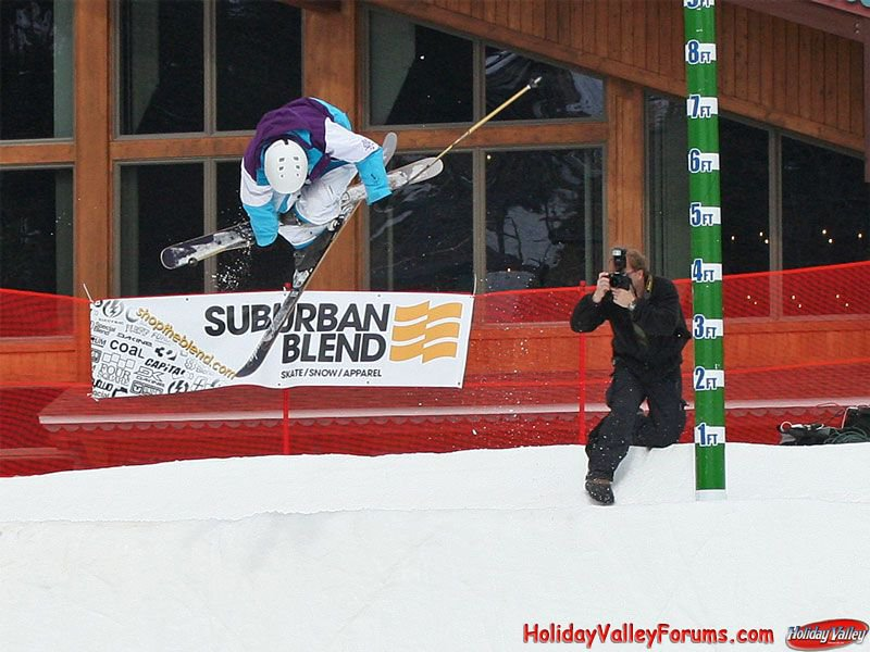 09 quarter pipe comp at the valley