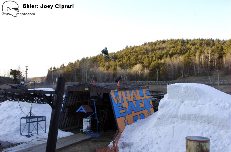 Whaleback Lift hut Joey