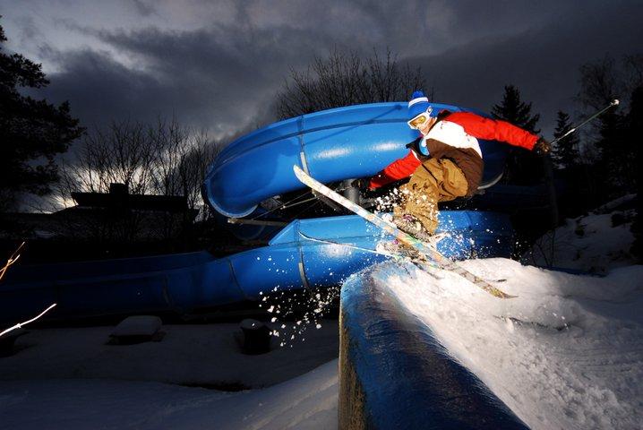 Shredding the Waterpark