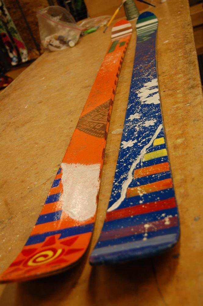Painted shkeees