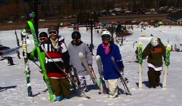 Ski people.