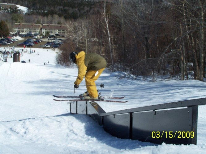 Rail at mt snow