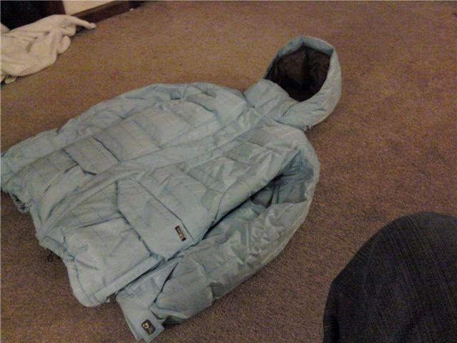 Xl baby blue jacket