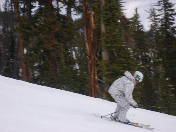 Me skiing haha!