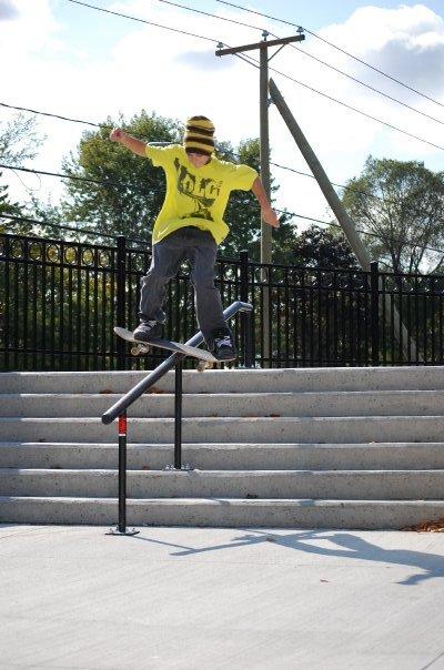 Mike- boardslide