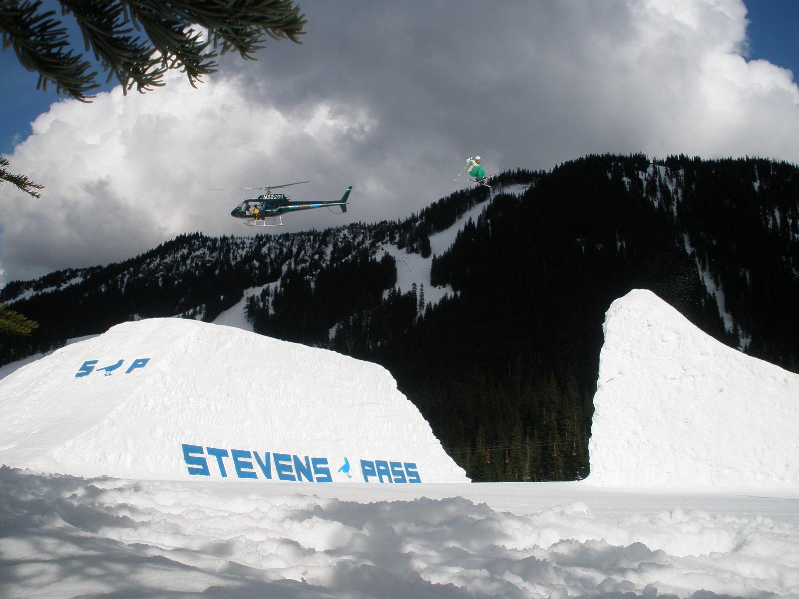 TGR Shoot at stevens pass