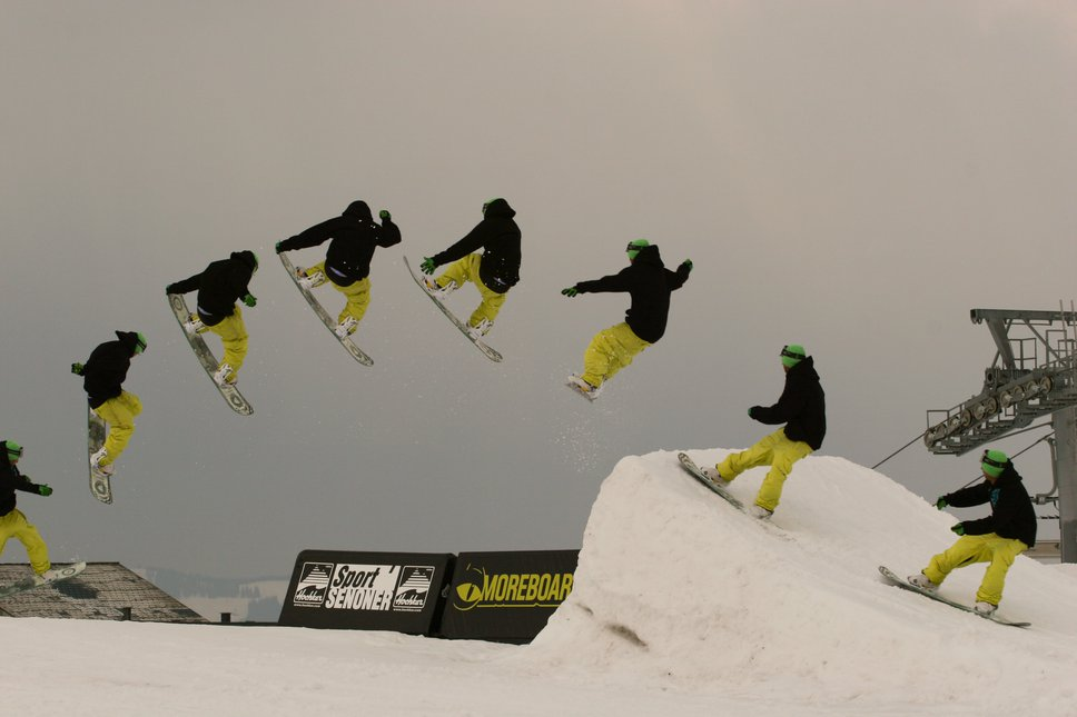 Snowboard cab3 sequence
