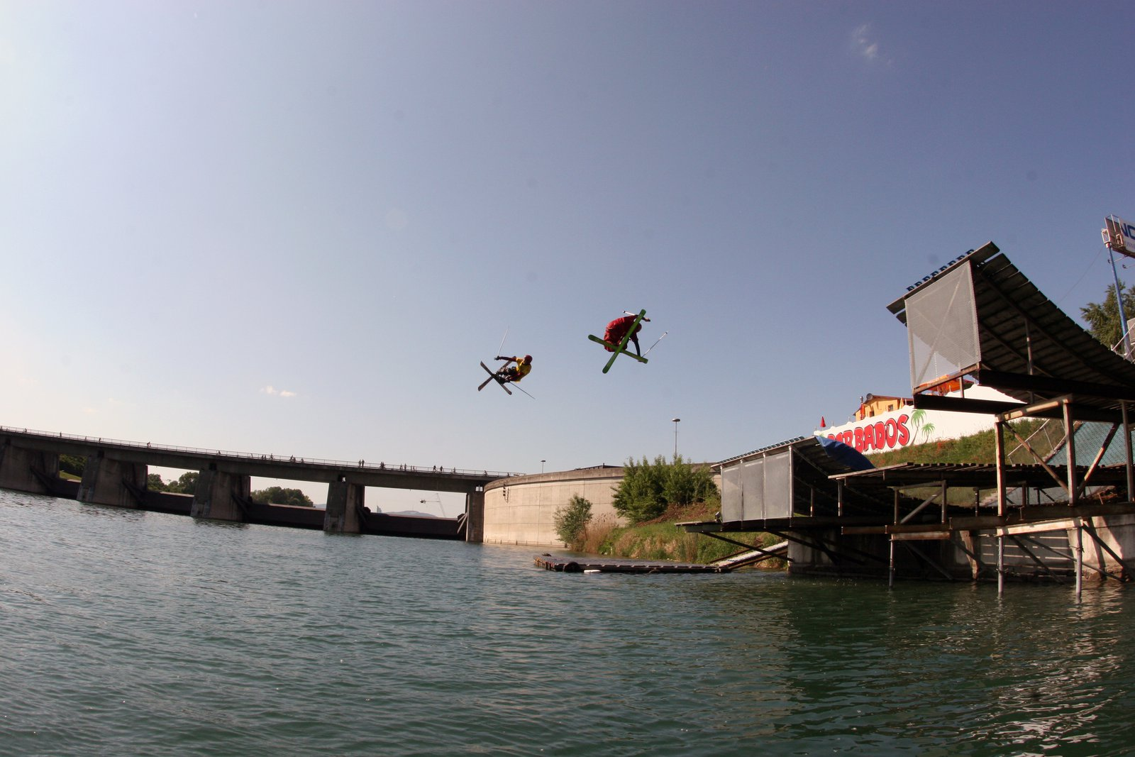 Waterramp Vienna - double the fun