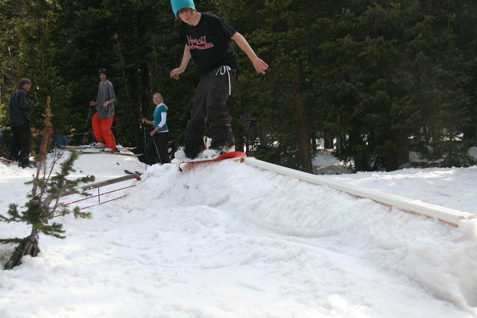 Doing things one footed
