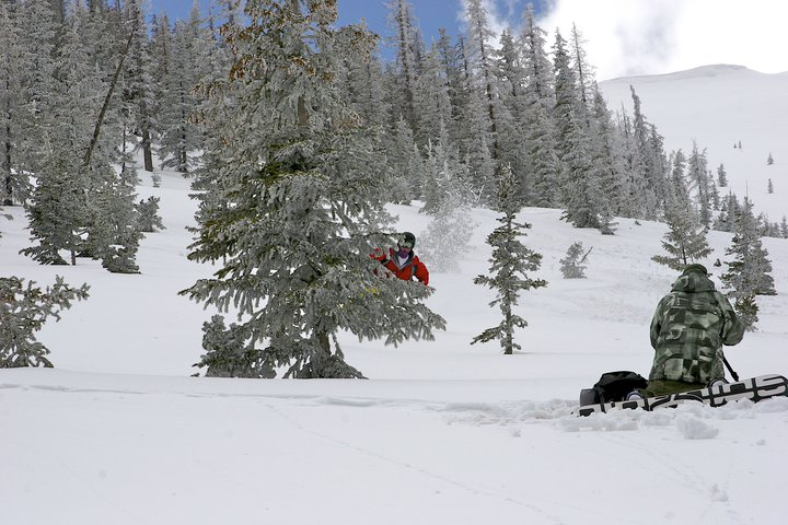Backcountry in Steamboat