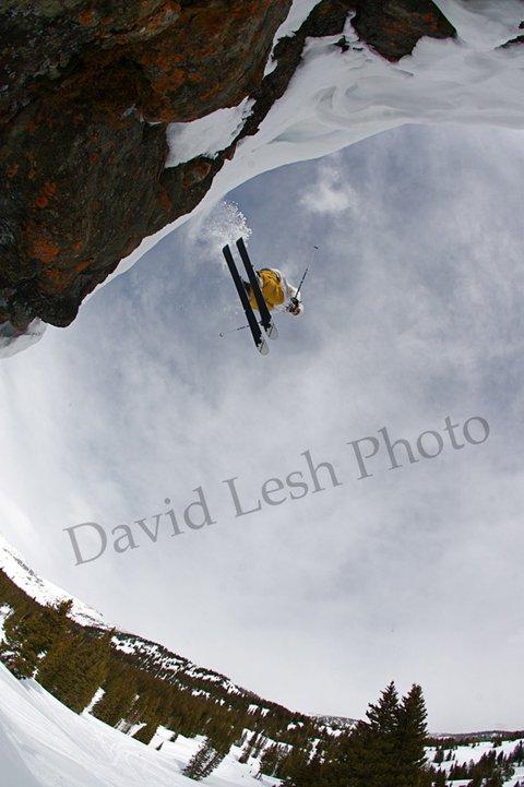 Graham Owen Crested Butte Cliff Drop