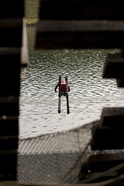 Waterramp Vienna - superman front