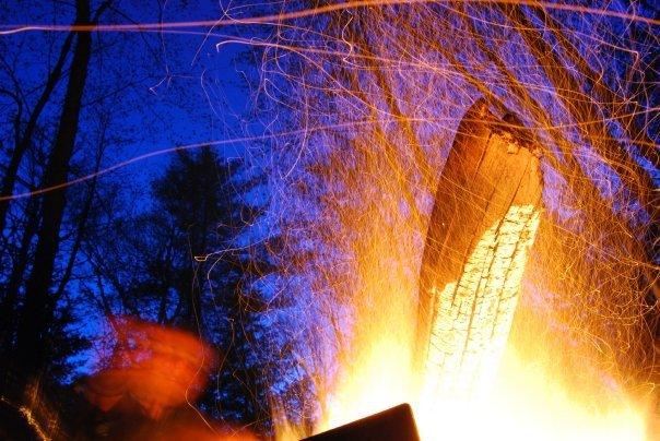 Camp Fire-Long Exposure