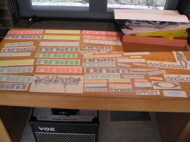 NINM stickers
