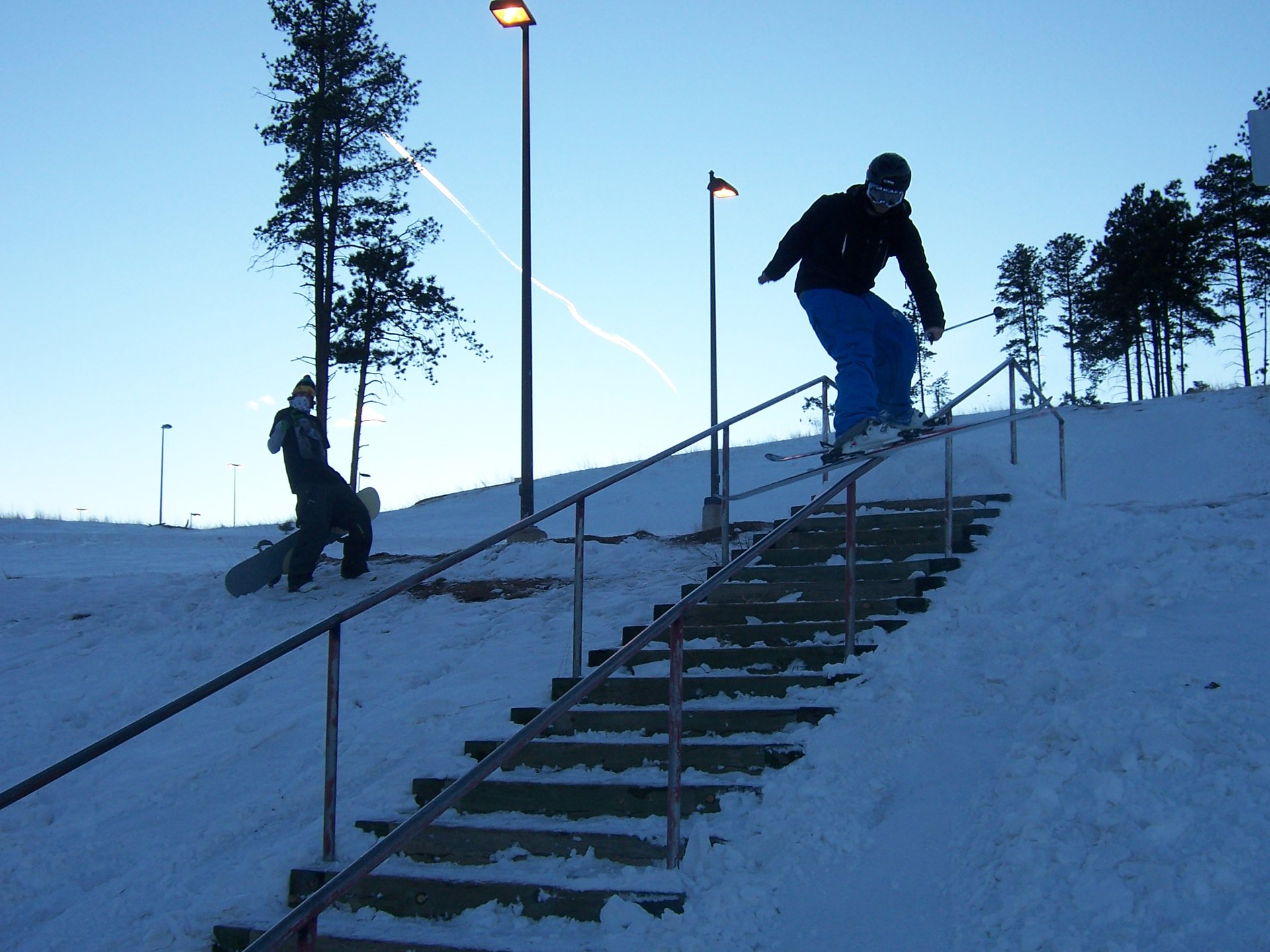 26 Stair at Conifer