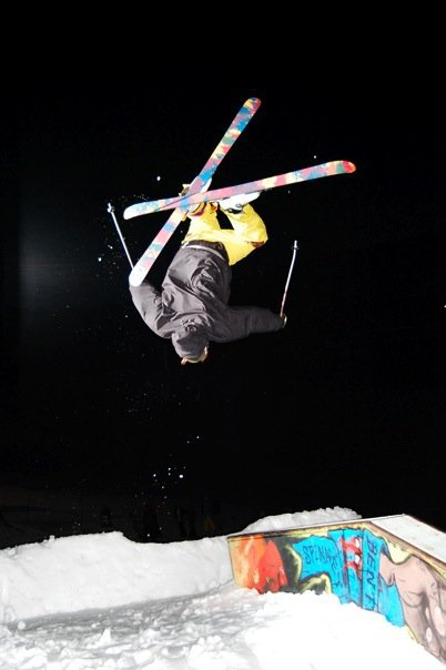 Scott Pollman backflip disaster onto flat-down at Stomp Games