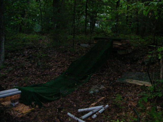 Woods setup ramp