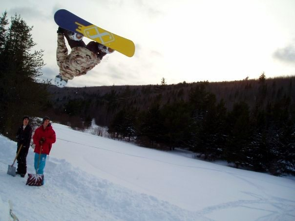 Nice jump at Popo's camp