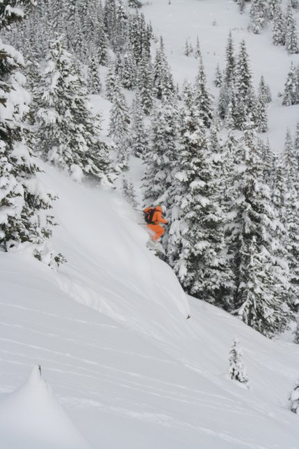 Craig in the Pow on Vail Pass