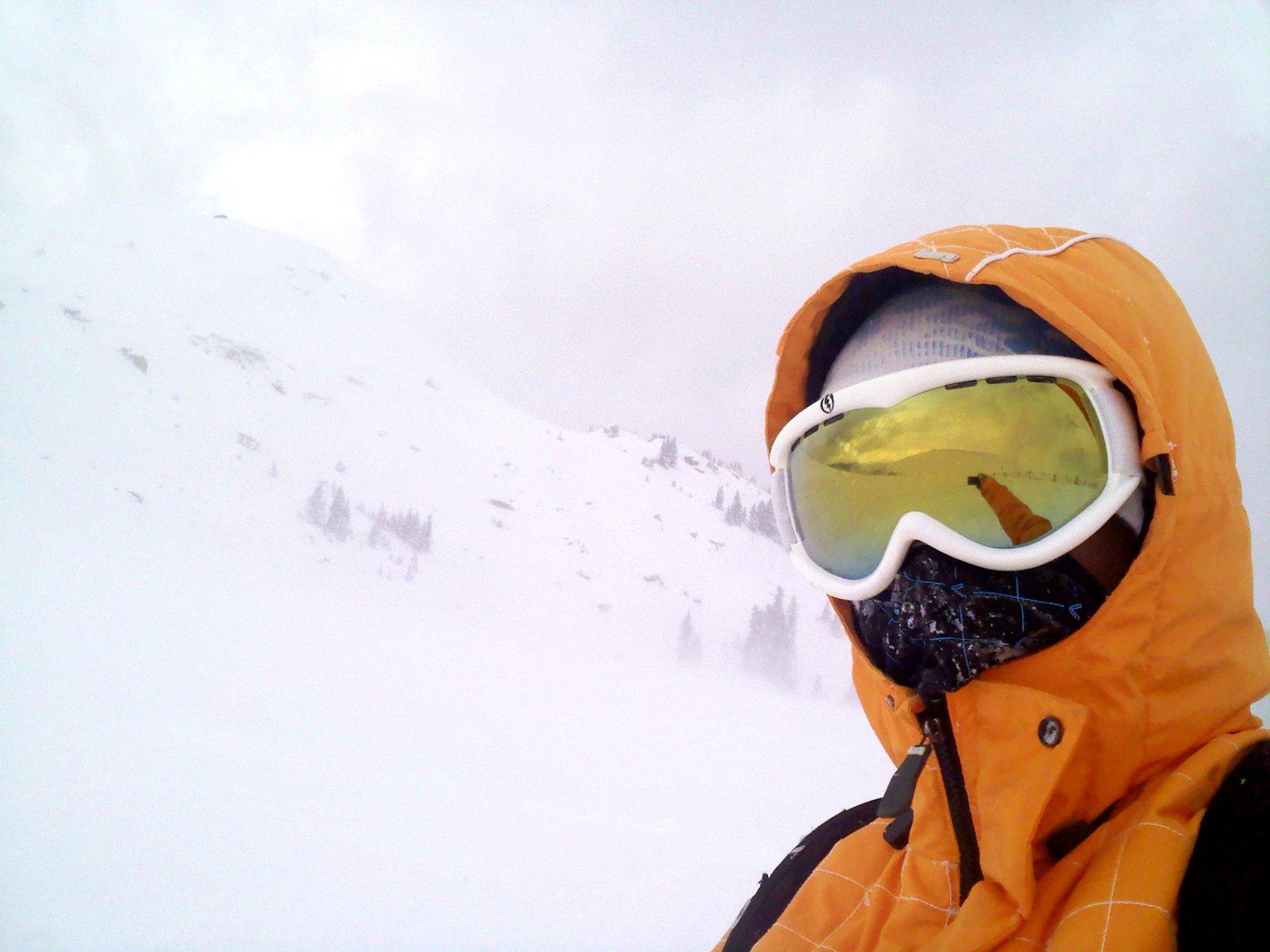 Craig on Vail Pass