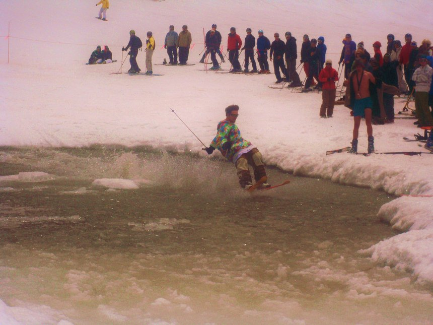 Pond Skim at A-Basin