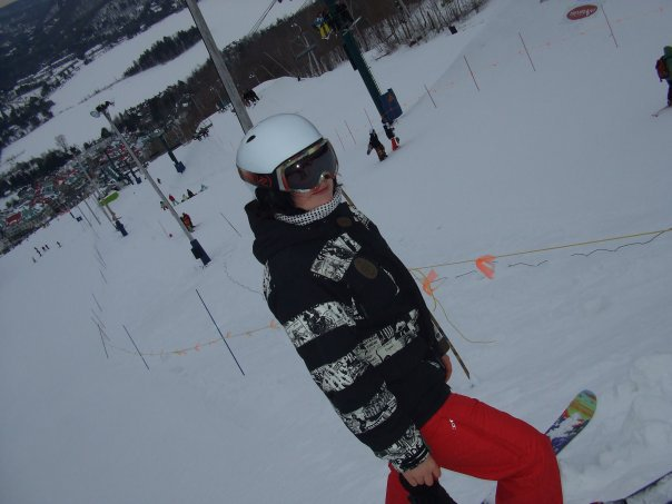 Me at Mont-Tremblant