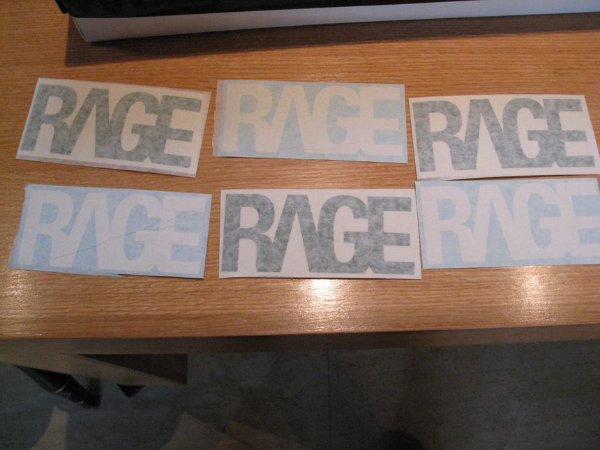 Rage Stickers