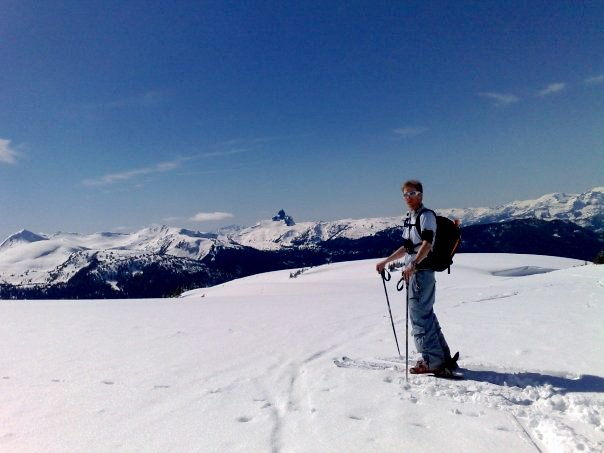 Craig in the Backcountry in BC