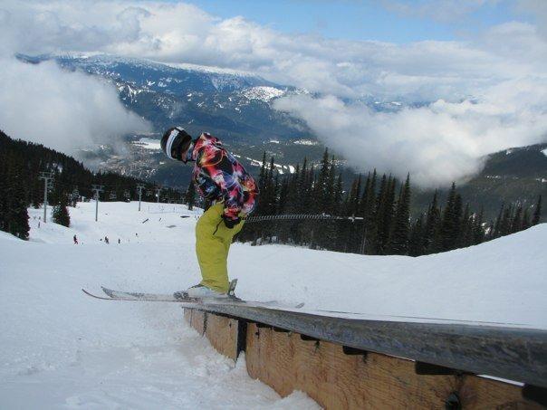 Sliding a rail