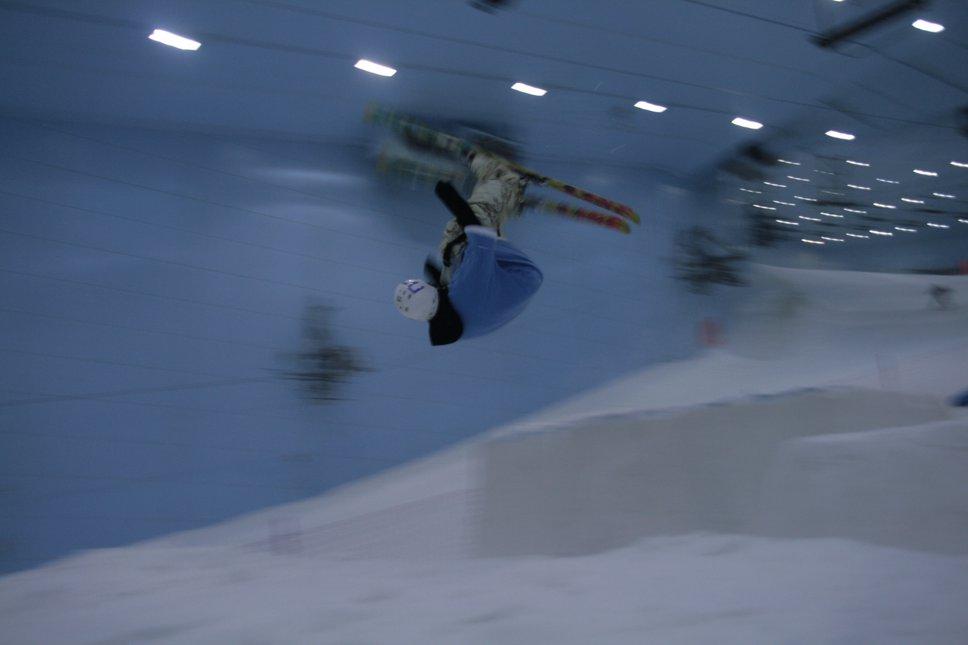 Ski Dubai fun!