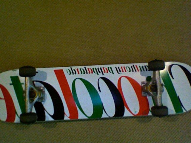 Chocolate skate for fs/ft for skates