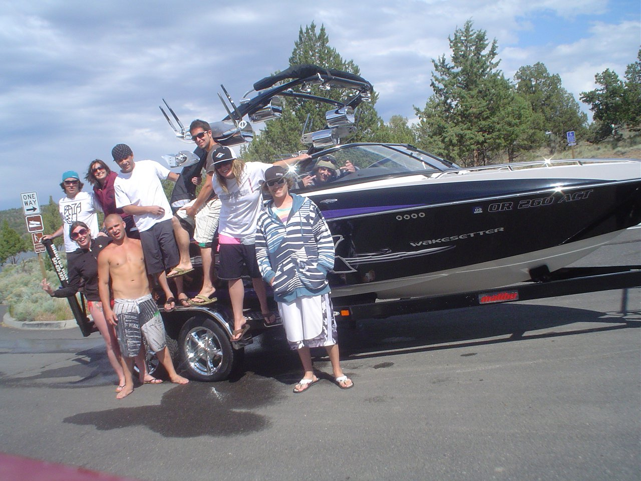 First Day on the Lake 2009