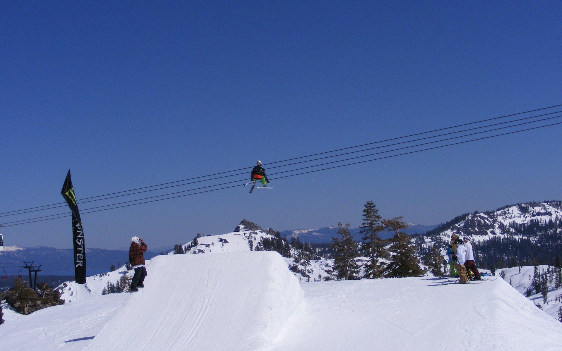 Big jump at squaw - 2 of 3
