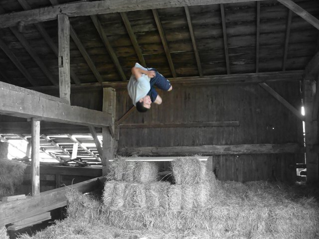 Goin Big in the Hay