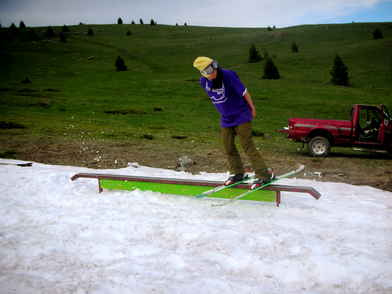 Snow drift june 19th