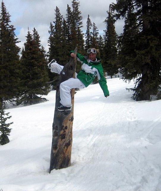 Tree hump