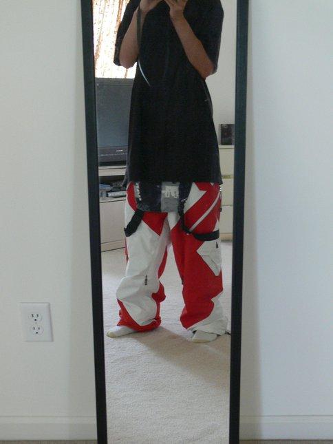 Dumont pants fo thread