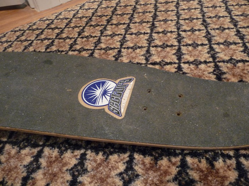 Board Tail - Top
