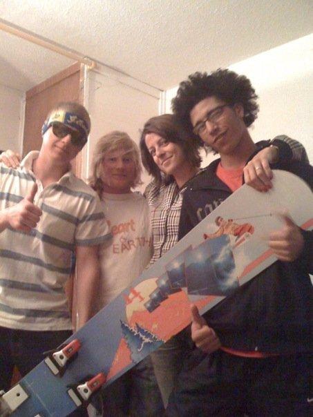 La Plagne Crew Monoski