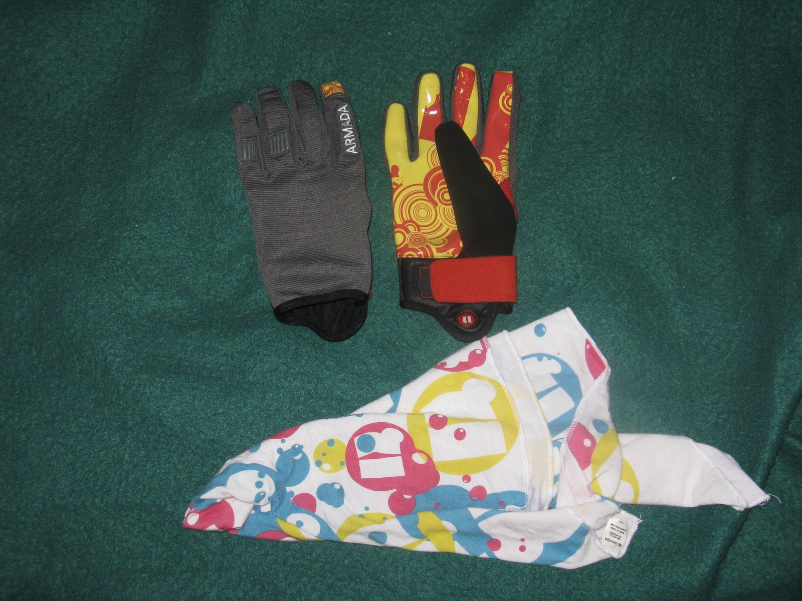 Gloves And Bandana