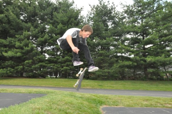 Cameron-360 flip grass gap