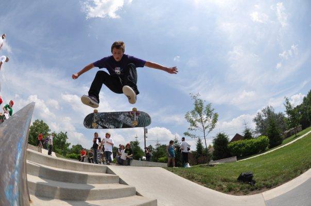 Cameron-frontside flip