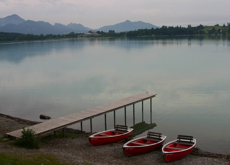 Bavarian lake