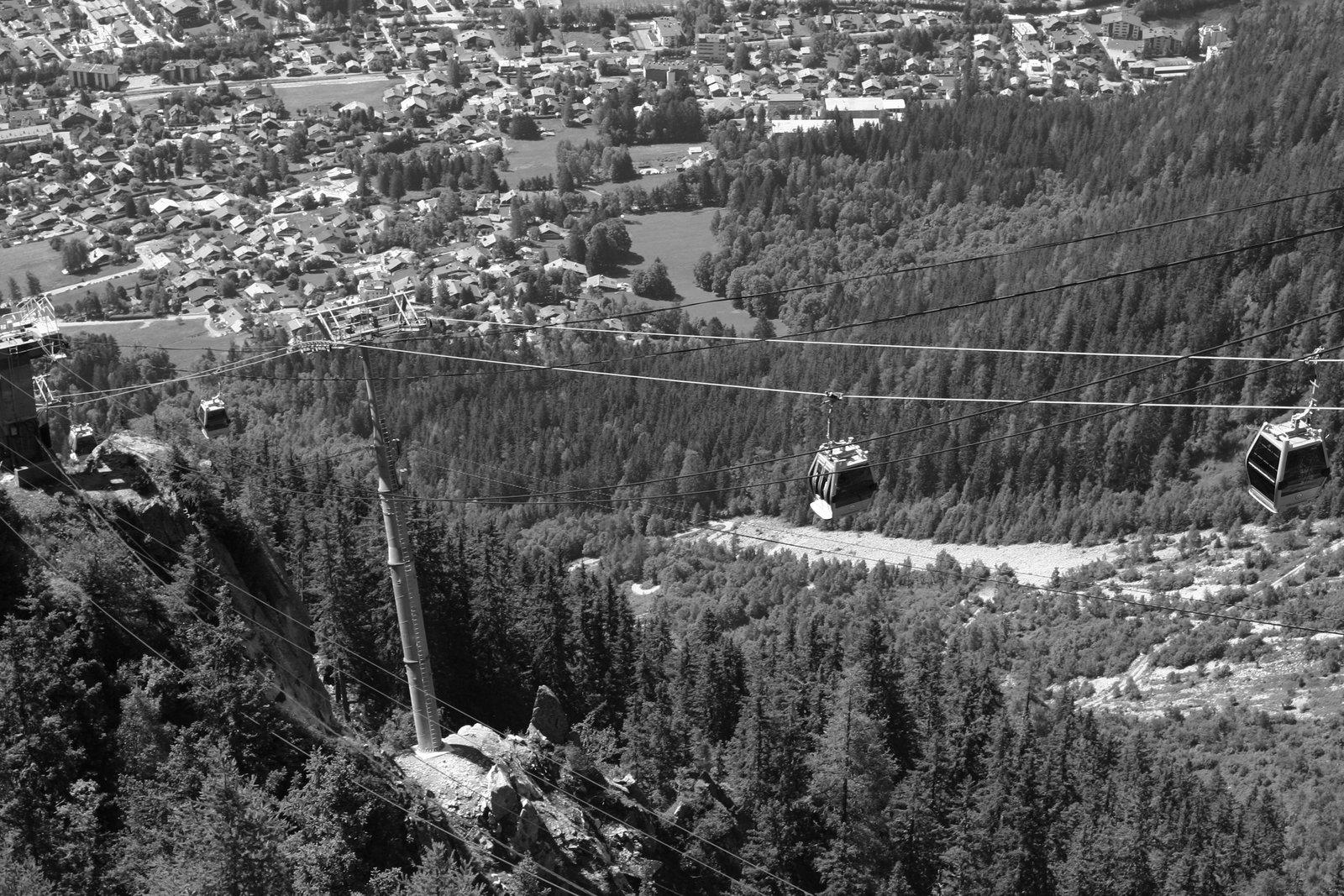Chamonix tram